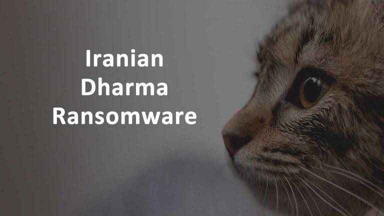 Iran Dharma Ransomware