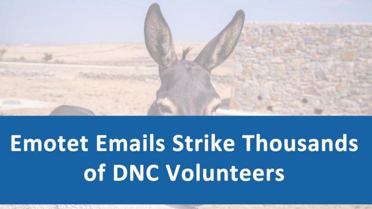 Emotet Malware DNC