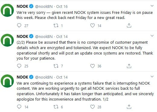 NOOK Tweet ZDNet