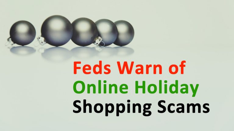 Online Holiday Shopping Scams