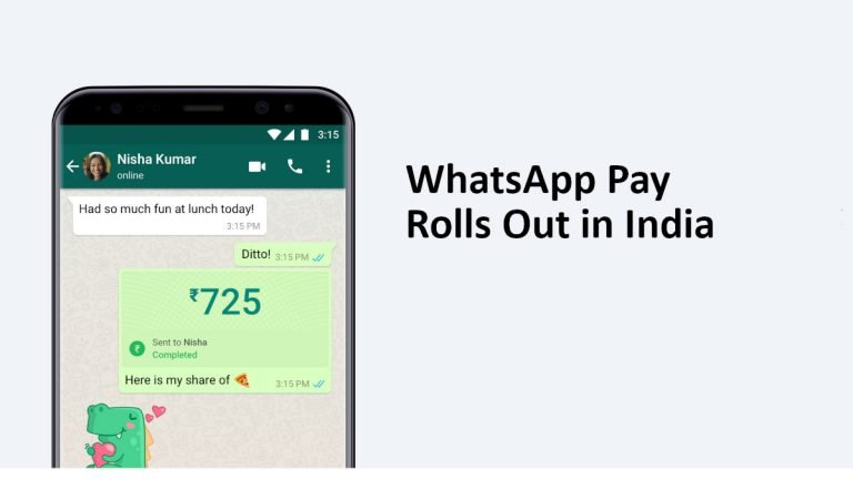 WhatsApp Pay India