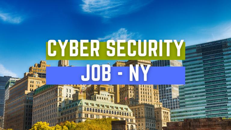 Cyber Security Job BUFFALO NY