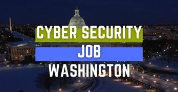 Cyber Security Job Washington DC