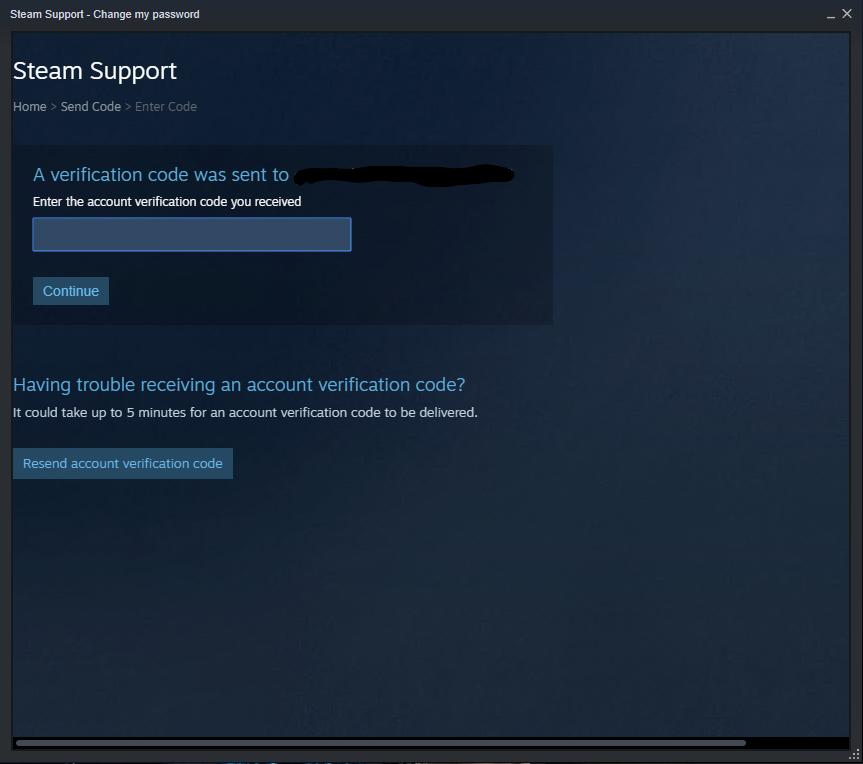 Steam Email Verify