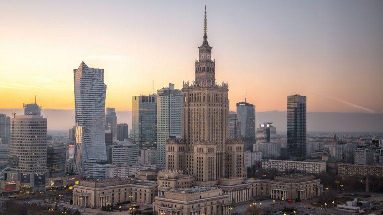 Warszawa Warsaw Poland Cyberattack
