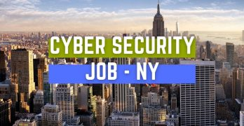 Cyber Security Job NYC