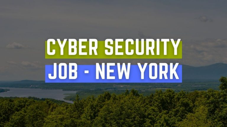 Cyber Security Job New York State
