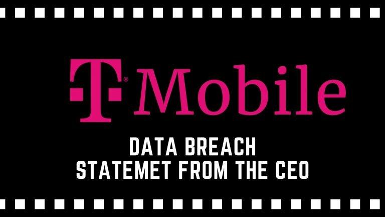 T-Mobile Data Breach CEO