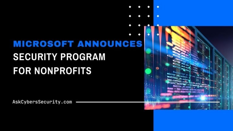 Microsoft Security Nonprofits